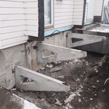 Precast Concrete Step Replacement Before Pics 2