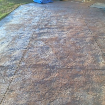 colored stamped concrete edmonton