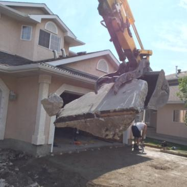 remove and replace driveway edmonton